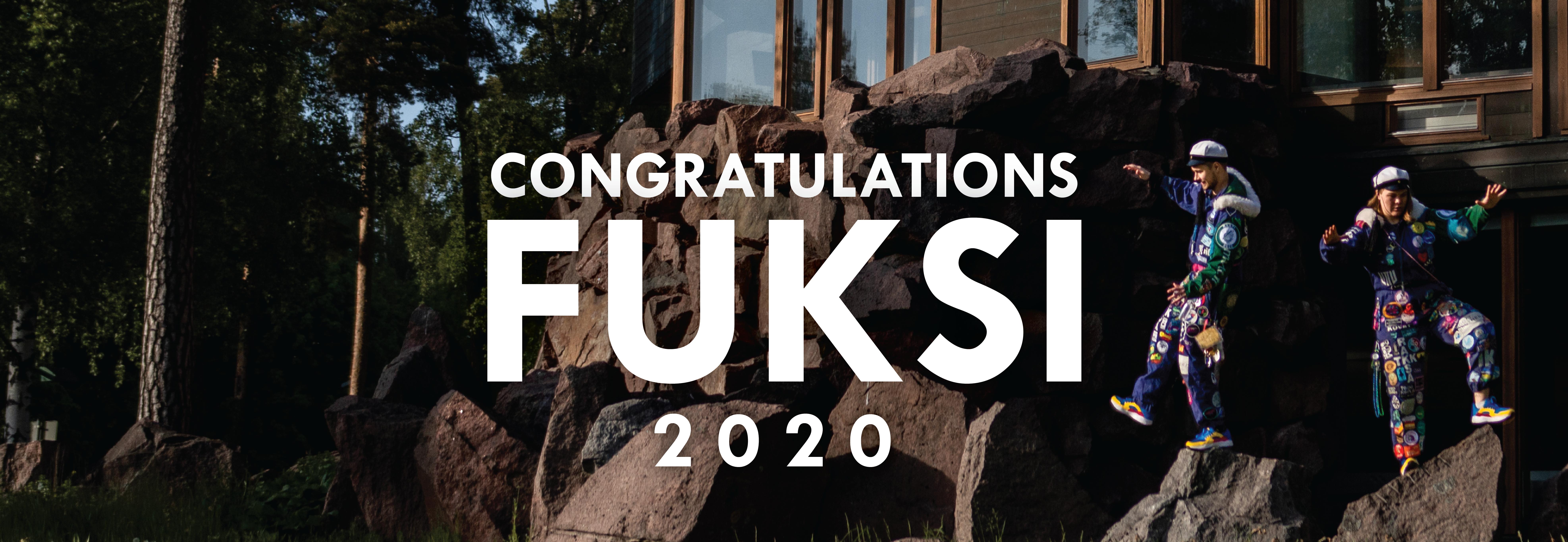 Onneksi olkoon!